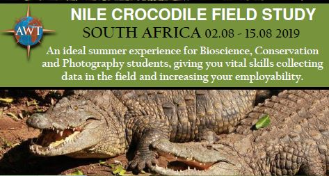 Nile Crocodile Field Study - August 2019 - Brochure